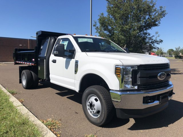 2019 F-350 Regular Cab DRW 4x4, Morgan Dump Body #FLU35082 - photo 8