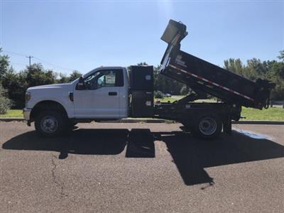 2019 F-350 Regular Cab DRW 4x4, Morgan Dump Body #FLU35082 - photo 9