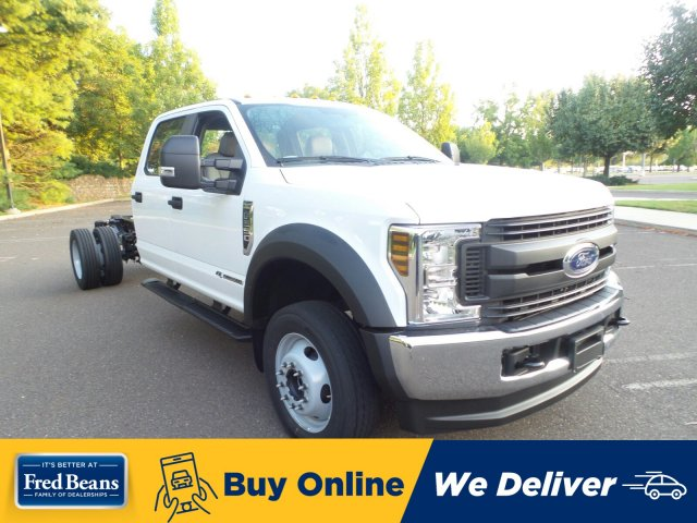 2019 F-550 Crew Cab DRW 4x4, Cab Chassis #FLU35090 - photo 1
