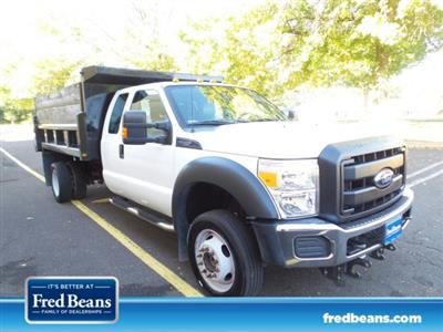 2015 F-550 Super Cab DRW 4x4,  Dump Body #FLU350931 - photo 1