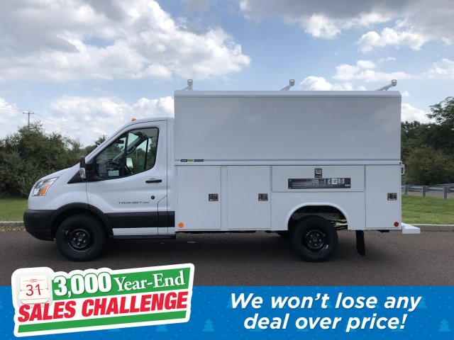 2019 Transit 350 4x2, Reading Aluminum CSV Service Utility Van #FLU35142 - photo 1