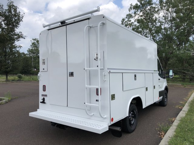 2019 Transit 350 4x2, Reading Aluminum CSV Service Utility Van #FLU35142 - photo 9