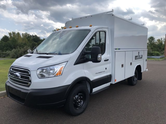 2019 Transit 350 4x2, Reading Aluminum CSV Service Utility Van #FLU35142 - photo 10