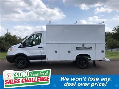 2019 Transit 350 4x2,  Reading Aluminum CSV Service Utility Van #FLU35142 - photo 1