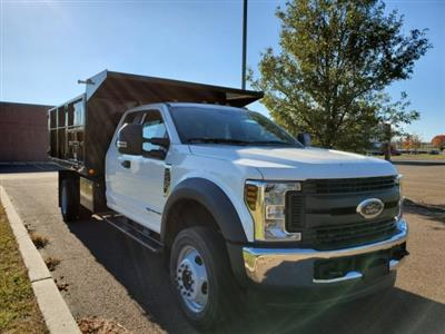 2019 Ford F-450 Super Cab DRW 4x4, Freedom Canyon Landscape Dump #FLU35210 - photo 6