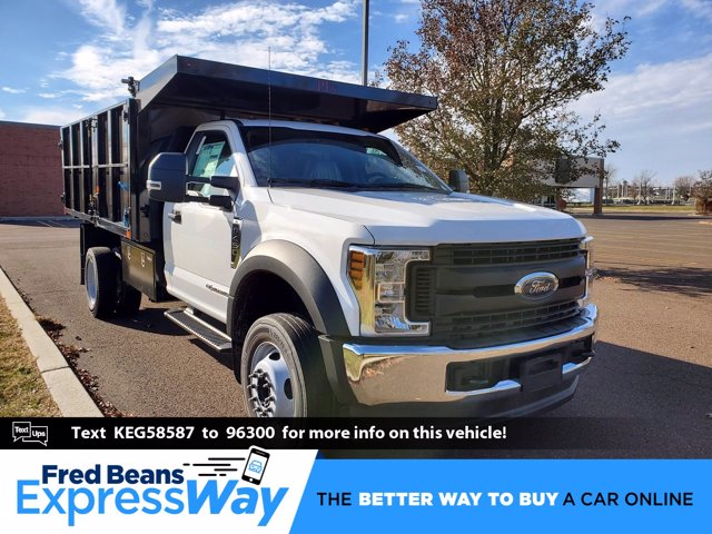 2019 Ford F-450 Regular Cab DRW 4x4, PJ's Landscape Dump #FL0282P - photo 1