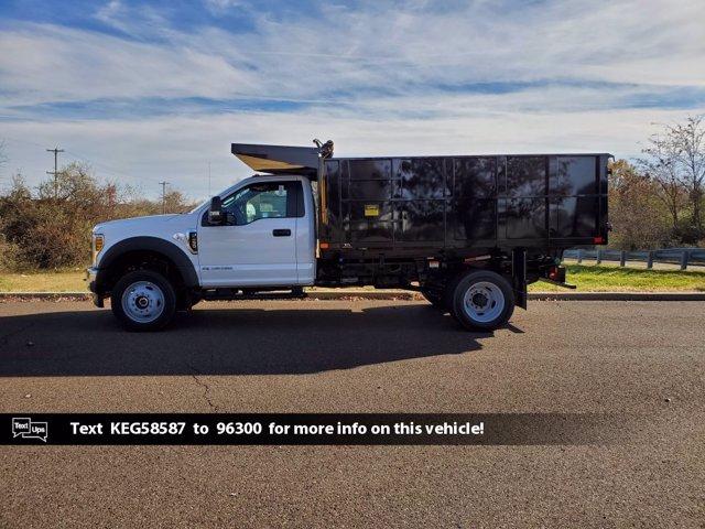 2019 Ford F-450 Regular Cab DRW 4x4, PJ's Landscape Dump #FL0282P - photo 4