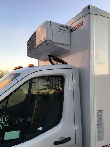 2019 Transit 350 HD DRW 4x2, Morgan NexGen Refrigerated Body #FLU35312 - photo 12