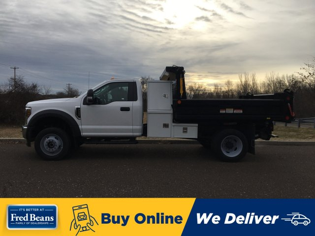 2019 F-550 Regular Cab DRW 4x4, Reading Marauder SL Dump Body #FLU35319 - photo 1