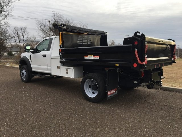 2019 F-550 Regular Cab DRW 4x4, Reading Marauder SL Dump Body #FLU35319 - photo 3