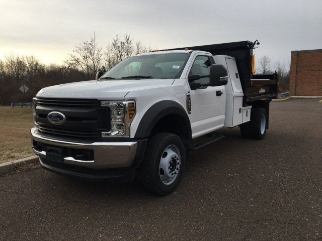 2019 F-550 Regular Cab DRW 4x4, Reading Marauder SL Dump Body #FLU35319 - photo 8
