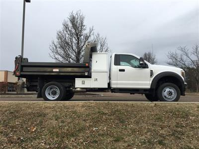 2019 F-550 Regular Cab DRW 4x4, Reading Marauder SL Dump Body #FLU35319 - photo 6