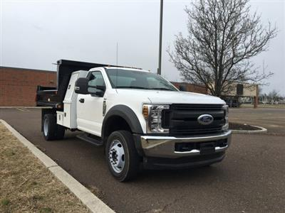 2019 F-550 Regular Cab DRW 4x4, Reading Marauder SL Dump Body #FLU35319 - photo 7