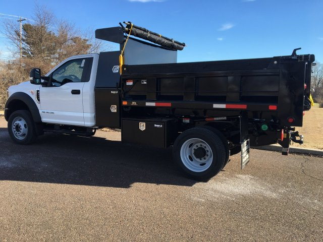 2019 F-550 Regular Cab DRW 4x4, Godwin 184U Dump Body #FLU35320 - photo 3