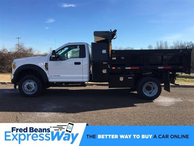 2019 F-550 Regular Cab DRW 4x4, Godwin 184U Dump Body #FLU35320 - photo 1