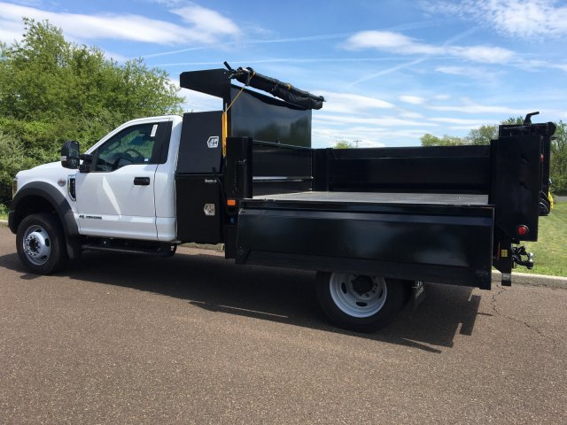 2019 Ford F-550 Regular Cab DRW 4x4, Godwin 184U Dump Body #FLU35323 - photo 11