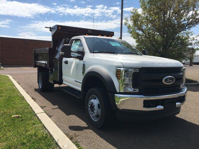 2019 Ford F-550 Regular Cab DRW 4x4, Godwin 184U Dump Body #FLU35323 - photo 8