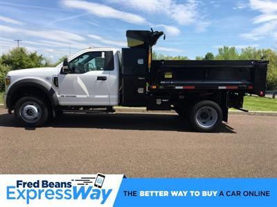 2019 Ford F-550 Regular Cab DRW 4x4, Godwin 184U Dump Body #FLU35323 - photo 1