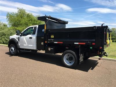 2019 Ford F-550 Regular Cab DRW 4x4, Godwin 184U Dump Body #FLU35323 - photo 2