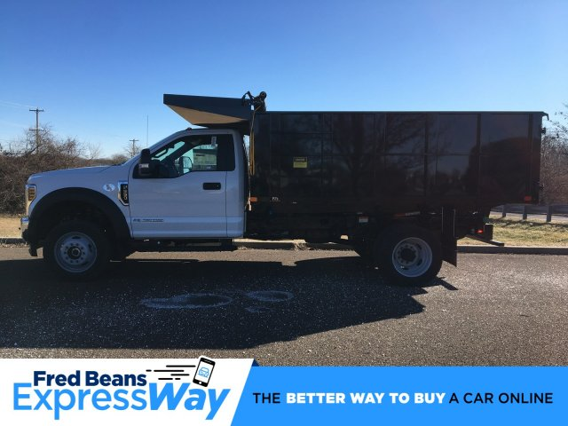 2019 F-550 Regular Cab DRW 4x4, PJ's Landscape Dump #FLU35328 - photo 1