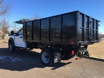 2019 F-550 Regular Cab DRW 4x4, PJ's Landscape Dump #FLU35328 - photo 2