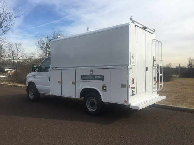 2019 E-350 4x2, Reading Aluminum CSV Service Utility Van #FLU35333 - photo 2