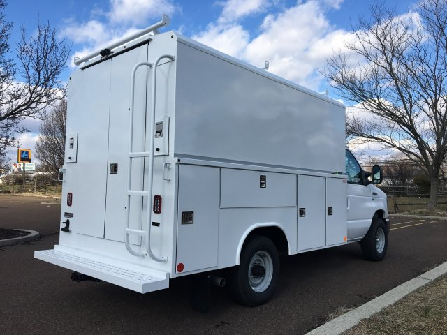 2019 E-350 4x2, Reading Aluminum CSV Service Utility Van #FLU35340 - photo 2