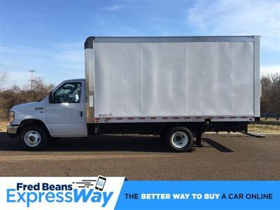 2019 E-350 4x2, Morgan Parcel Aluminum Cutaway Van #FLU35343 - photo 1