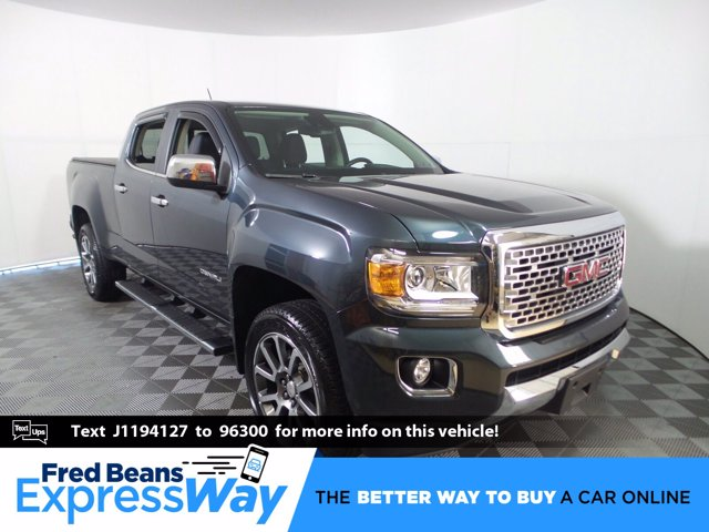 2018 GMC Canyon Crew Cab 4x4, Pickup #KL0146P - photo 1