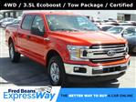 2018 F-150 SuperCrew Cab 4x4, Pickup #KL9263S - photo 1