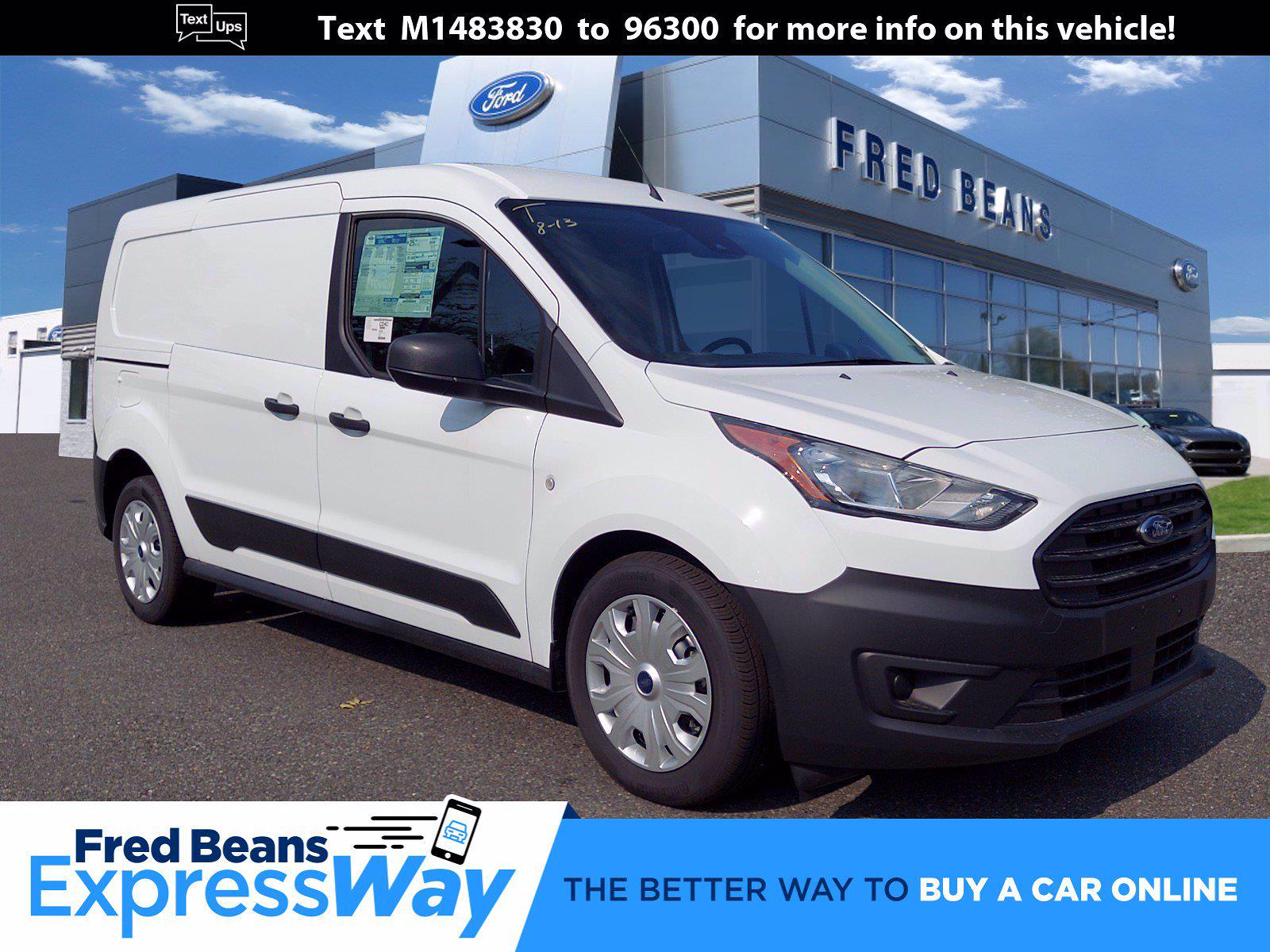 2021 Ford Transit Connect FWD, Empty Cargo Van #P00582 - photo 1