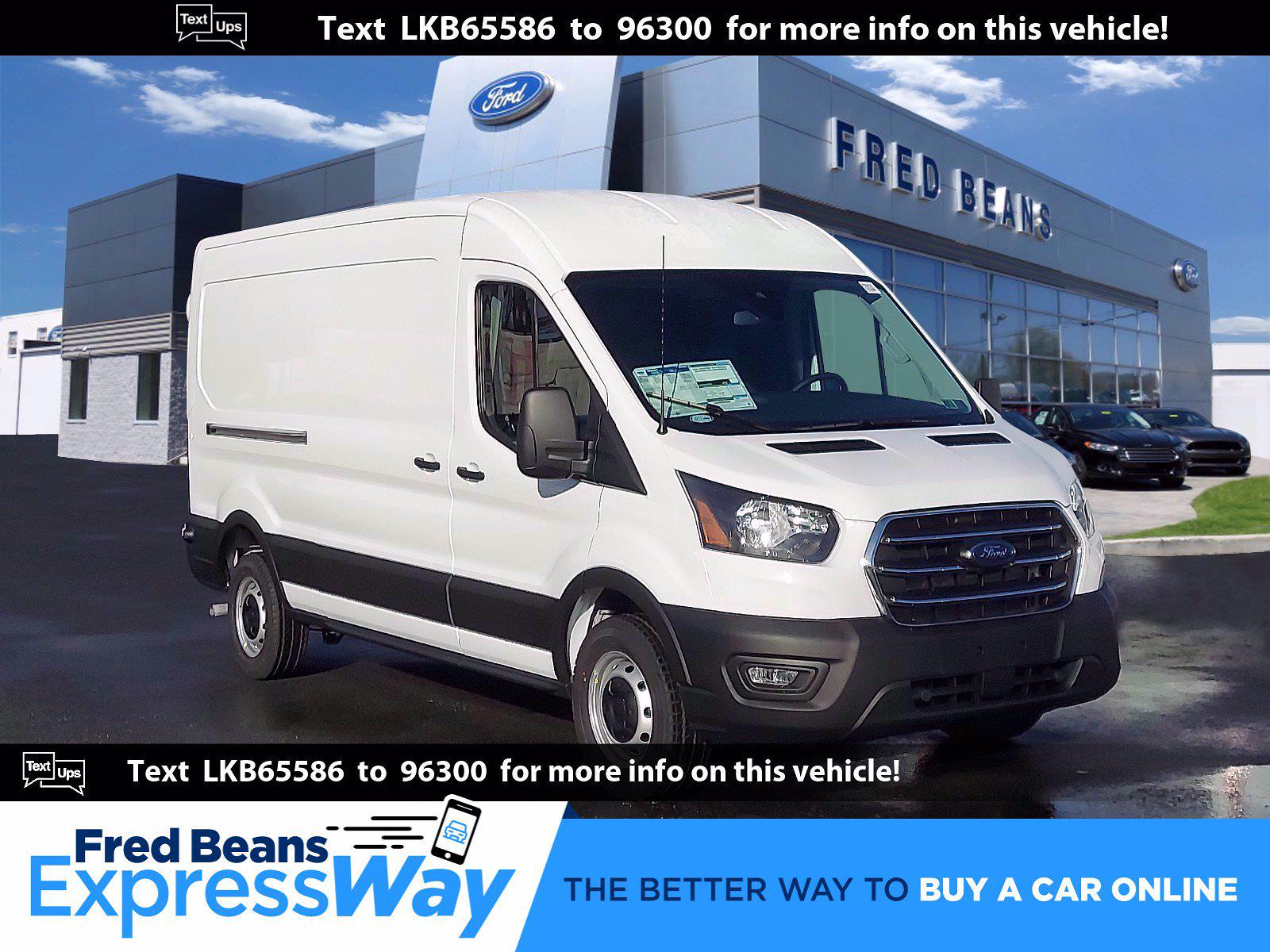 2020 Ford Transit 250 Med Roof 4x2, Empty Cargo Van #P00818 - photo 1