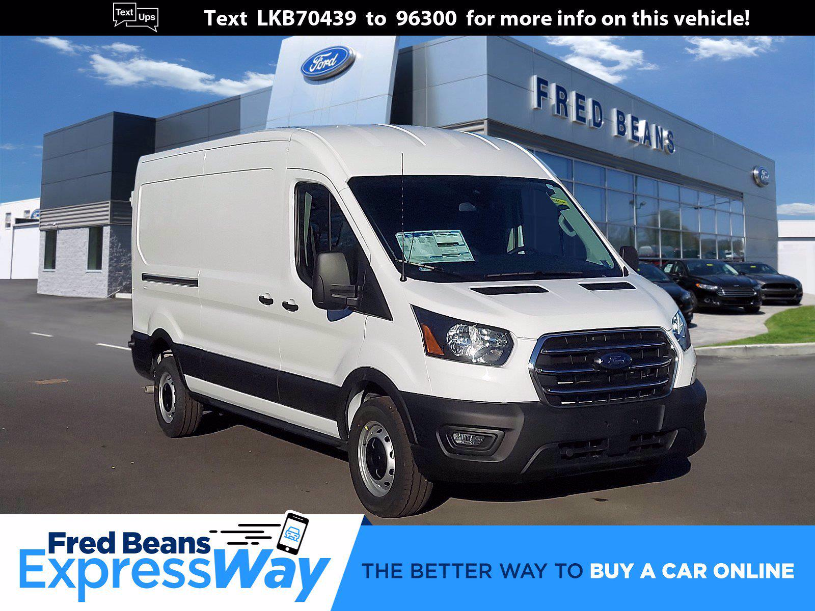2020 Ford Transit 250 Med Roof 4x2, Empty Cargo Van #P00862 - photo 1