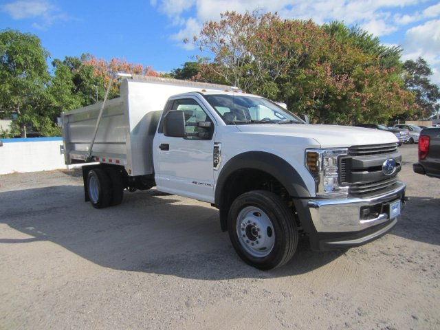 2019 Ford F-550 Regular Cab DRW 4x4, Knapheide Landscape Dump #19T815 - photo 1