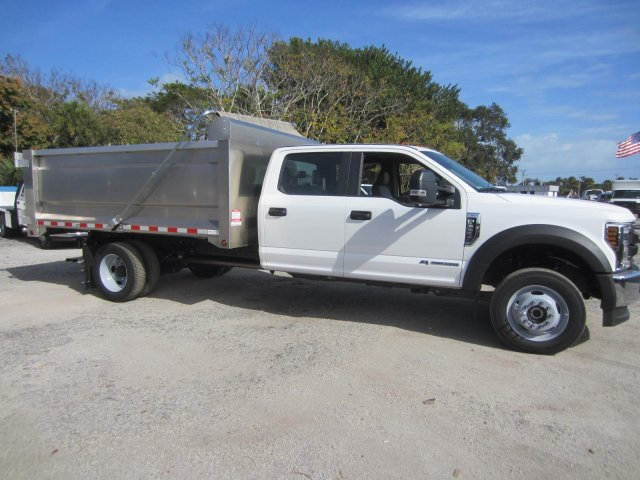 2019 Ford F-550 Crew Cab DRW 4x4, Knapheide Value-Master X Landscape Dump #19T863 - photo 3