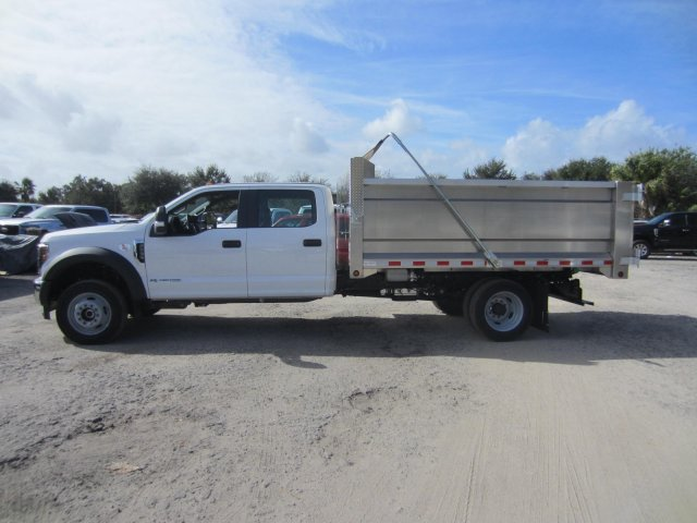 2019 Ford F-550 Crew Cab DRW 4x4, Knapheide Value-Master X Landscape Dump #19T863 - photo 6