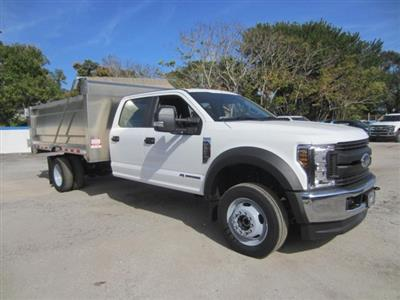 2019 Ford F-550 Crew Cab DRW 4x4, Knapheide Value-Master X Landscape Dump #19T863 - photo 1