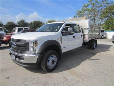 2019 Ford F-550 Crew Cab DRW 4x4, Knapheide Value-Master X Landscape Dump #19T863 - photo 7