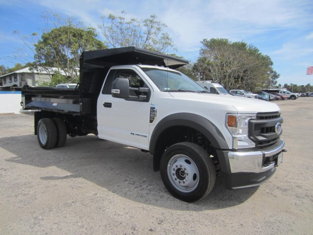 2020 Ford F-550 Regular Cab DRW 4x4, Knapheide Dump Body #20T388 - photo 1