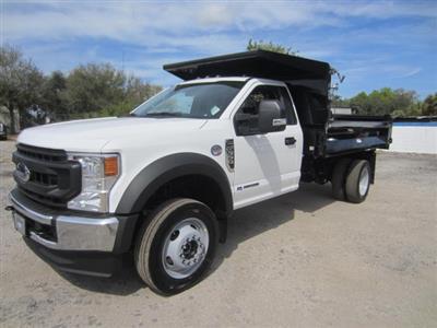 2020 Ford F-550 Regular Cab DRW 4x4, Knapheide Rigid Side Dump Body #20T388 - photo 6