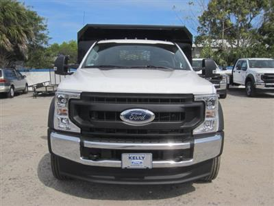 2020 Ford F-550 Regular Cab DRW 4x4, Knapheide Rigid Side Dump Body #20T388 - photo 7