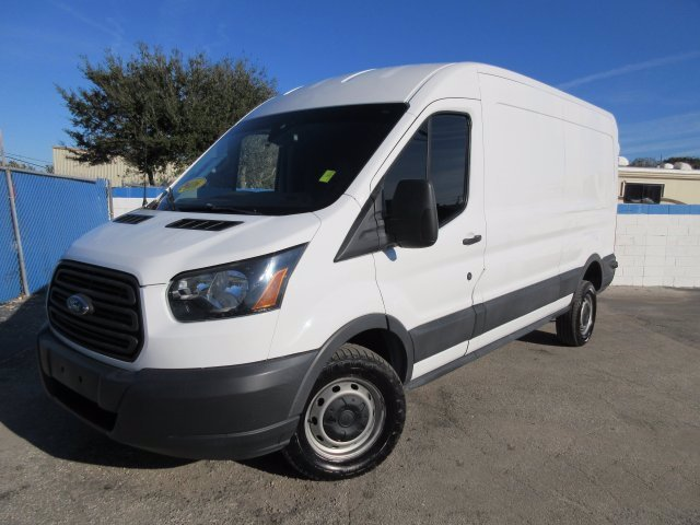 2016 Ford Transit 150 Med Roof 4x2, Upfitted Cargo Van #20T584A - photo 1