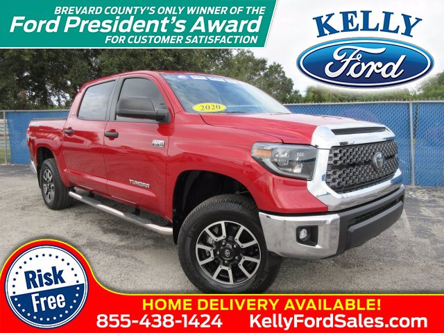 2020 Toyota Tundra Crew Cab 4x4, Pickup #20T646B - photo 1