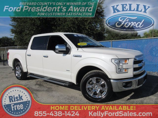 2015 Ford F-150 SuperCrew Cab RWD, Pickup #20T666A - photo 1
