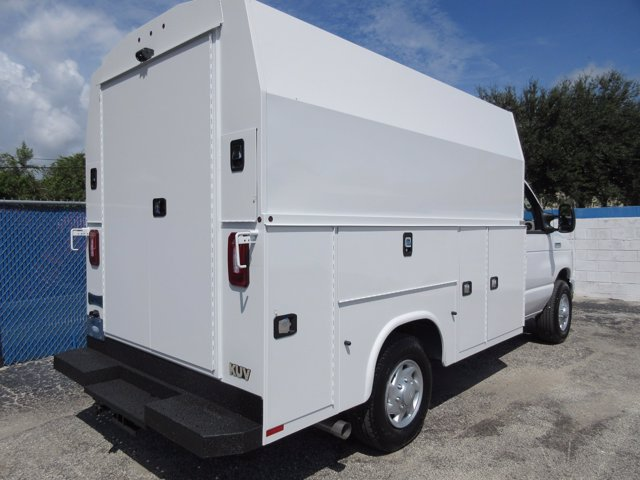 2021 Ford E-350 4x2, Knapheide Service Utility Van #21T001 - photo 1