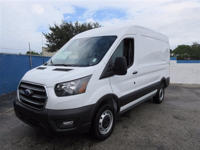 2020 Ford Transit 250 Med Roof RWD, Empty Cargo Van #20T786 - photo 7