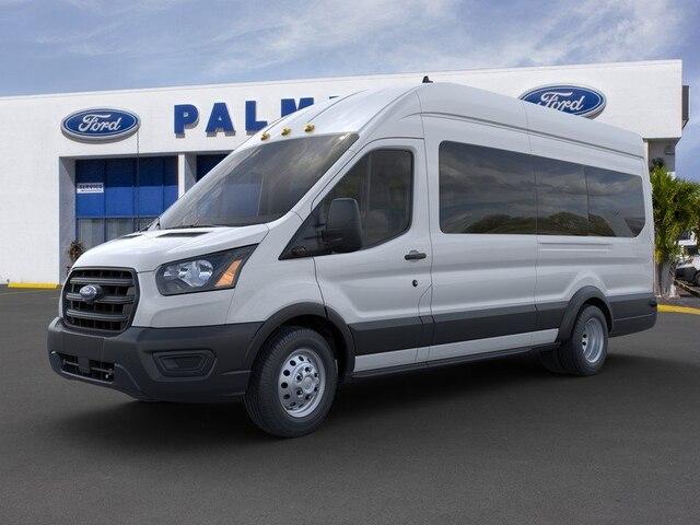 2020 Ford Transit 350 HD High Roof DRW RWD, Passenger Wagon #LKA36988 - photo 1