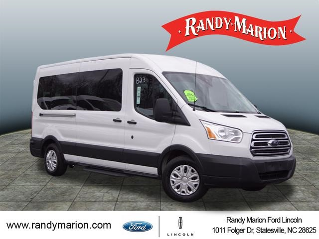 2018 Transit 350 Med Roof 4x2, Passenger Wagon #1829F - photo 1