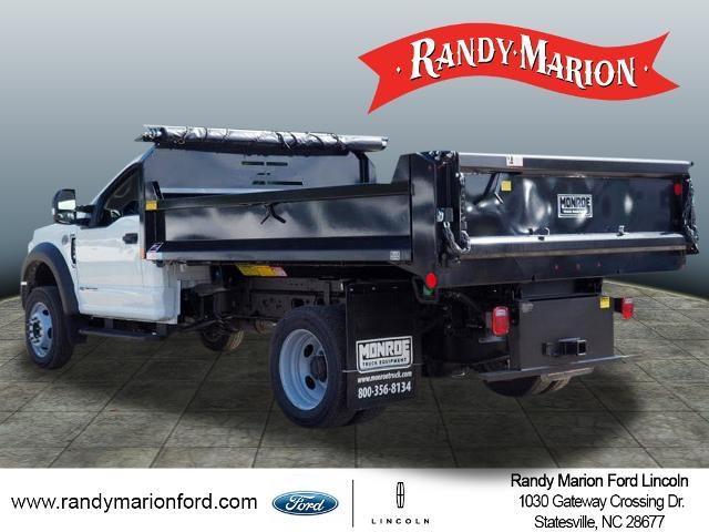 2020 Ford F-550 Regular Cab DRW 4x4, Monroe MTE-Zee Dump Body #FT11213 - photo 6