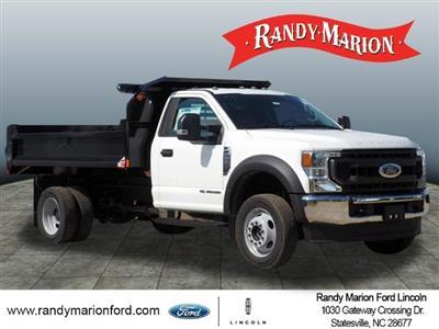 2020 Ford F-550 Regular Cab DRW 4x4, Monroe MTE-Zee Dump Body #FT11213 - photo 1